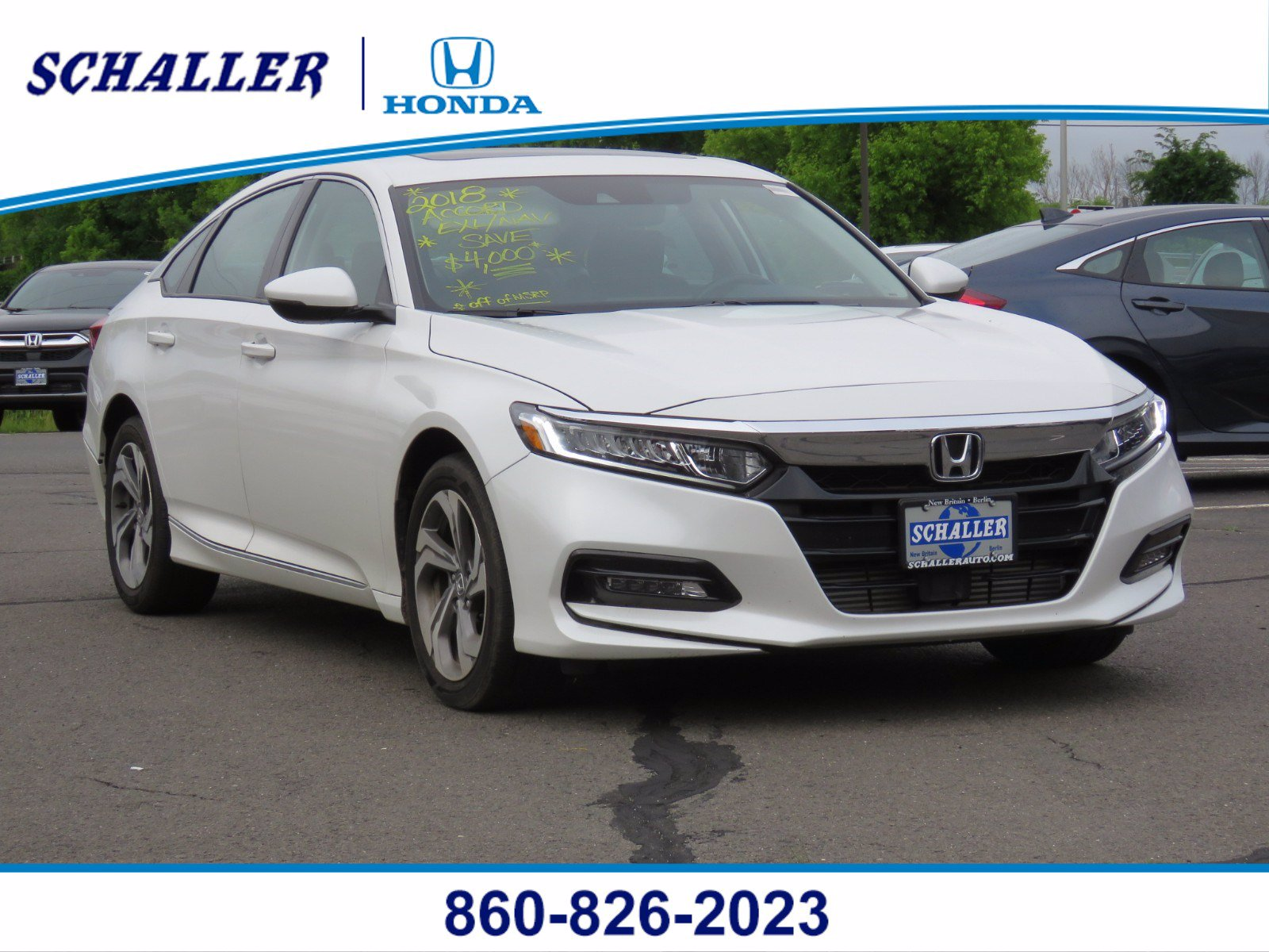 New 2018 Honda Accord EX-L Navi 2.0T