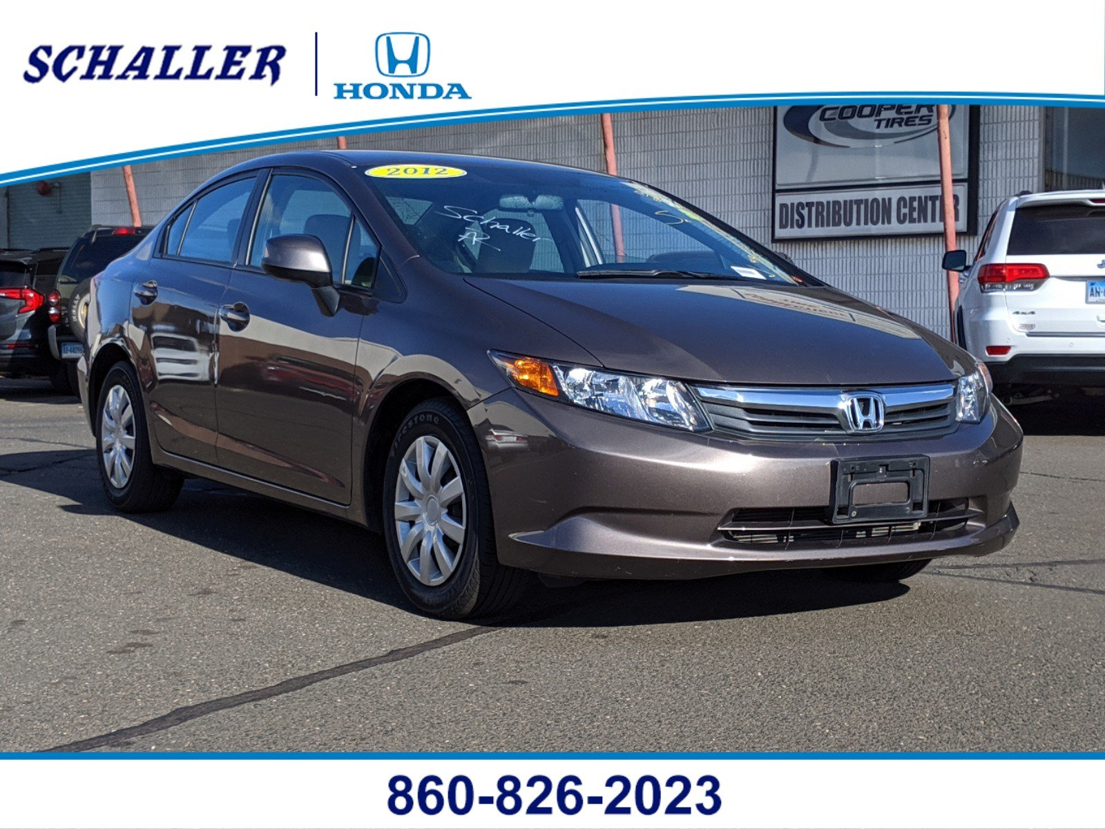 Pre-Owned 2012 Honda Civic Sedan LX