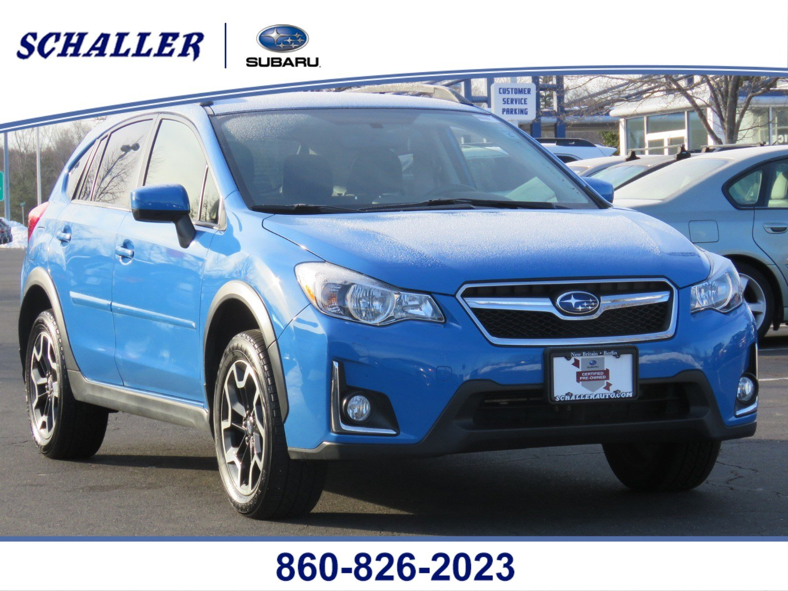 Certified Pre-Owned 2016 Subaru Crosstrek Premium