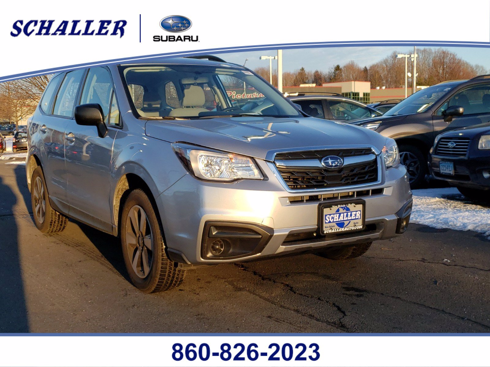 Certified Pre-Owned 2018 Subaru Forester