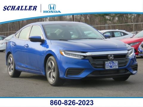New 2019 Honda Insight LX FWD 4dr Car