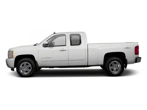 Pre-Owned 2010 Chevrolet Silverado 1500 Work Truck RWD Extended Cab Pickup