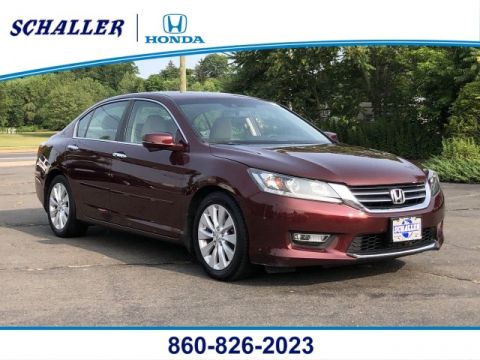 Pre-Owned 2013 Honda Accord EX-L With Navigation