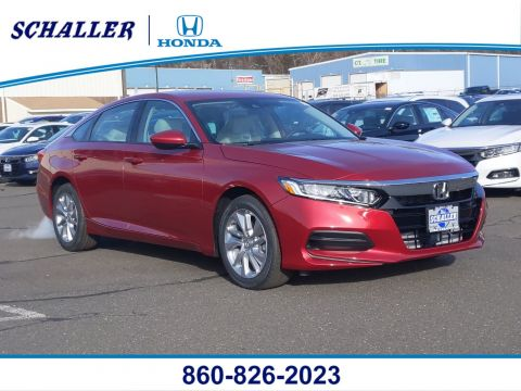New 2020 Honda Accord LX 1.5T