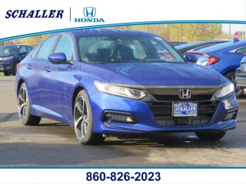 New 2019 Honda Accord Sport 1.5T FWD 4dr Car