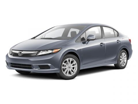 Pre-Owned 2012 Honda Civic Sedan EX