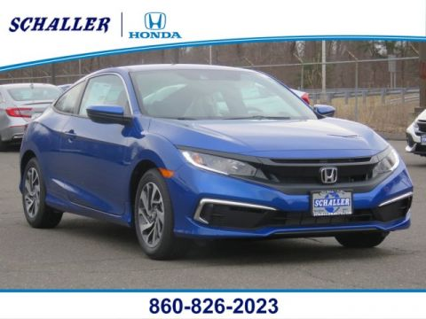 New 2019 Honda Civic Coupe LX FWD 2dr Car