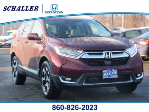 New 2019 Honda CR-V Touring AWD With Navigation & AWD