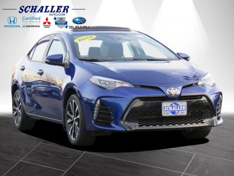 Pre-Owned 2018 Toyota Corolla SE FWD 4dr Car