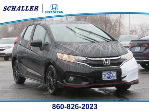 New 2019 Honda Fit Sport FWD Hatchback