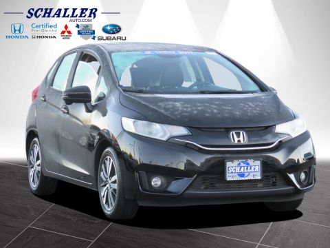 Certified Pre-Owned 2017 Honda Fit EX-L With Navigation