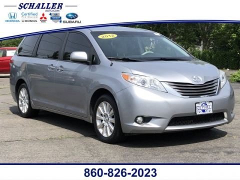 Pre-Owned 2012 Toyota Sienna Ltd AWD