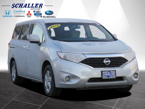 Pre-Owned 2015 Nissan Quest SV FWD Mini-van, Passenger